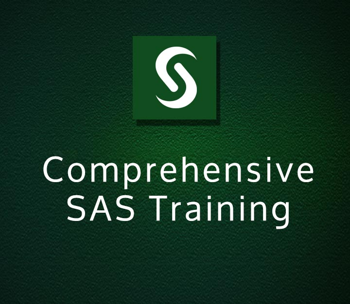 Comprehensive SAS Training