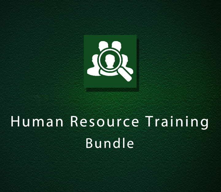 Human Resource Training Bundle
