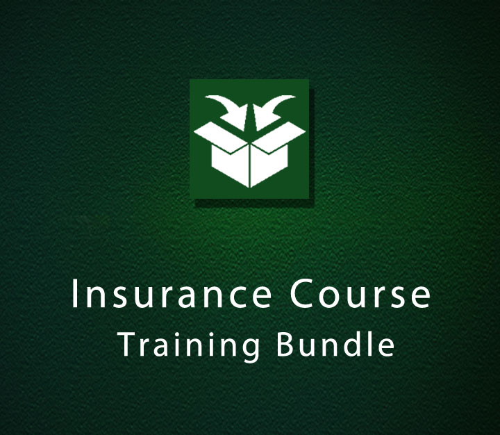 Insurance Course Training Bundle