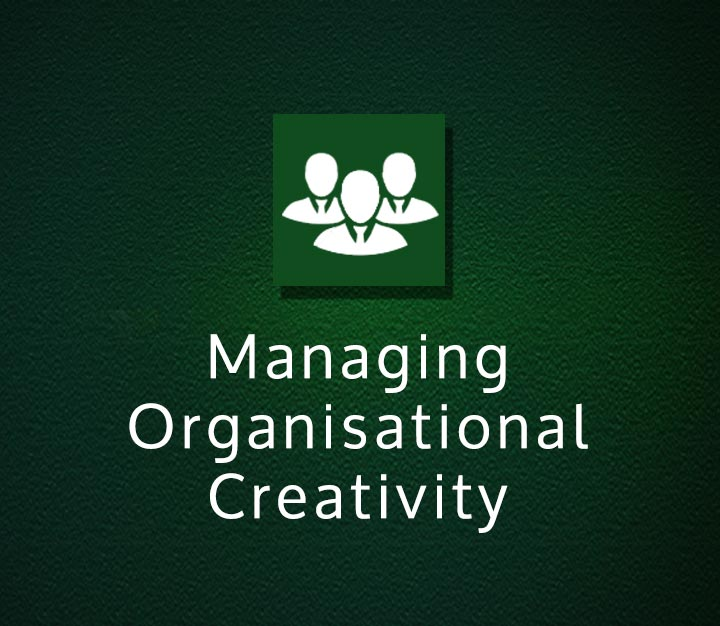 Managing Organisational Creativity