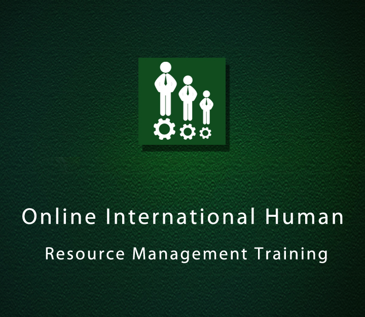 Online International Human Resource Management Training