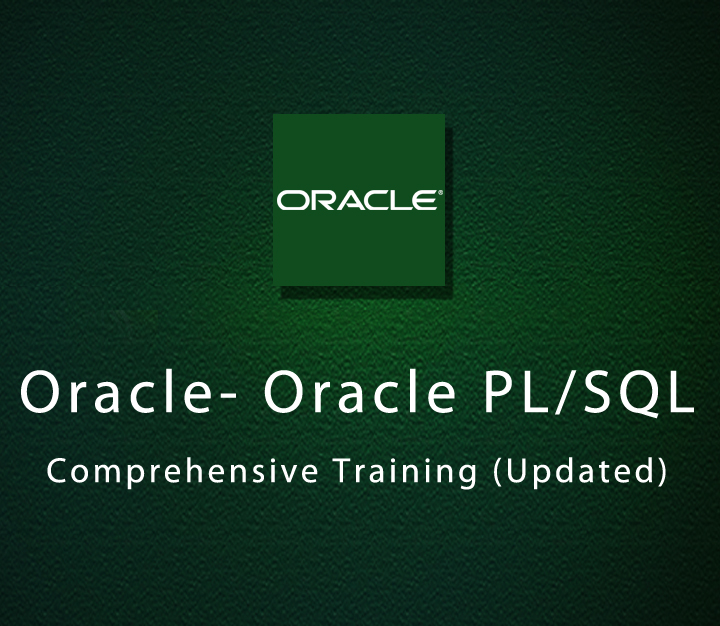 Oracle - Oracle PL/SQL Comprehensive Training (Updated)