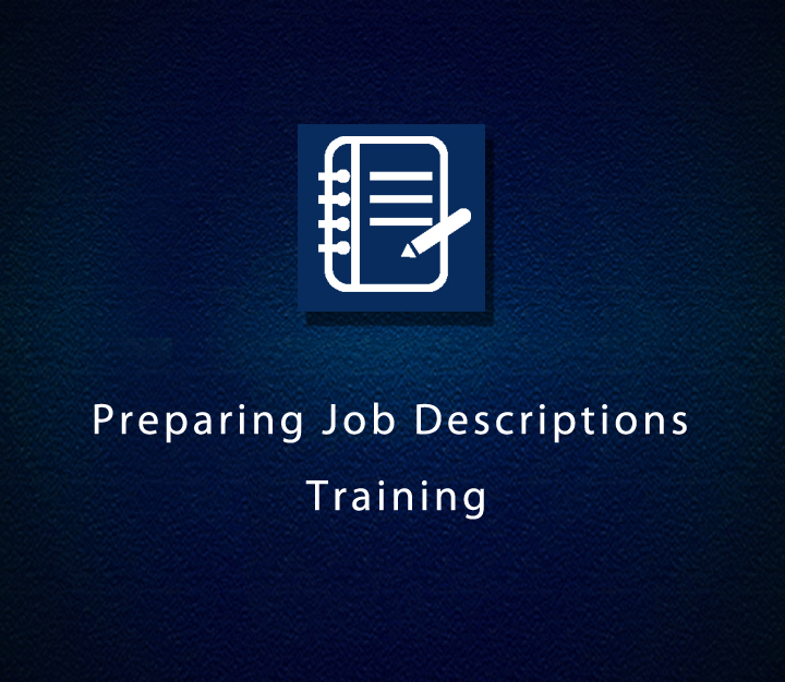 Preparing Job Descriptions Training