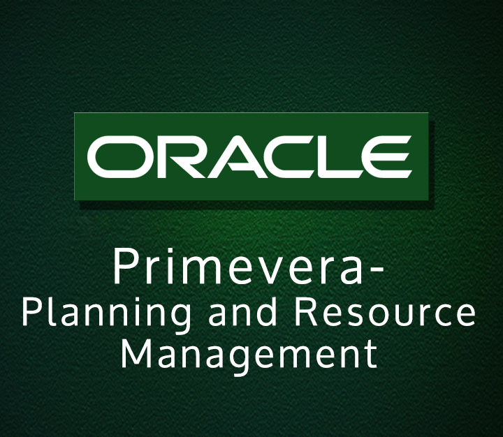 Primevera- Planning and Resource Management