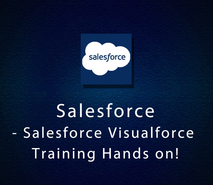 Salesforce - Salesforce Visualforce Training Hands on!