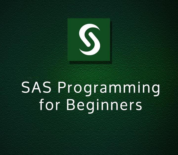 SAS - SAS Programming for Beginners