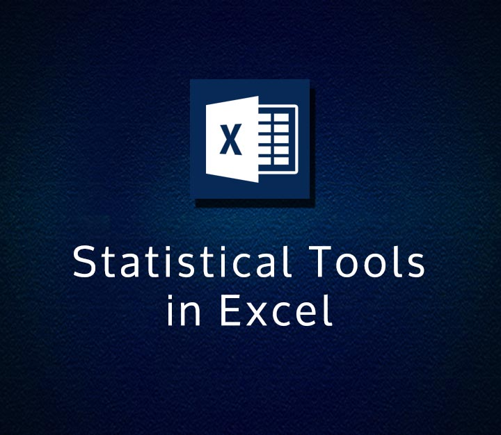Statistical Tools in Excel