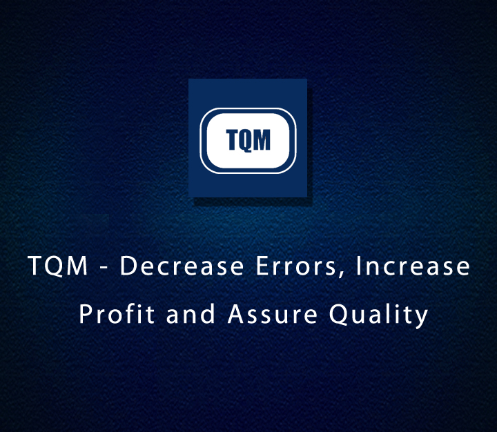 TQM - Decrease Errors, Increase Profit and Assure Quality