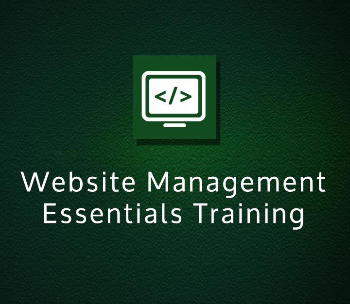 Website Management Essentials Training
